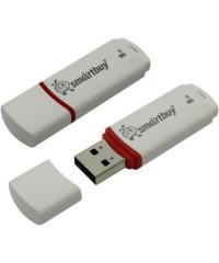 Флэш диск USB Smart Buy 8GB Crown белый