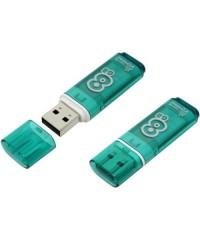 Флэш диск USB Smart Buy 8Gb Glossy зеленый