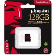 Карта памяти microSDXC 128Gb Kingston UHS-I без адаптера