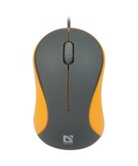Мышь проводная Defender Accura MS-970 gray/orange