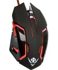 Мышь проводная Nakatomi MOG-20U Gaming черная