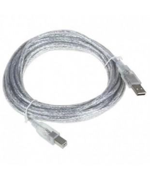 Кабель соединительный USB2.0 AB 1.8м VCOM