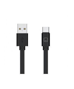 Кабель Prime Line Type-C - USB черный 7216