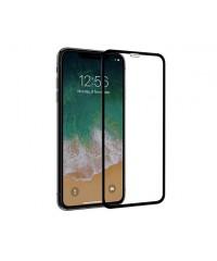 Защитное стекло Оптима iPhone X Черное