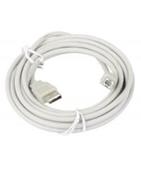 Кабель соединительный USB2.0 AB 3м Telecom