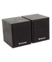 Колонки Defender 2.0 SPK-230 черные 2*2W USB