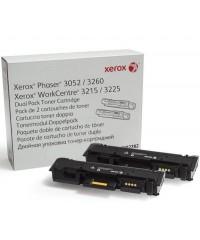 Картридж оригинальный Xerox 106R02782 к 3052/ 3260/ WC 3215/ 25, двойная упаковка (2*3000 стр.)