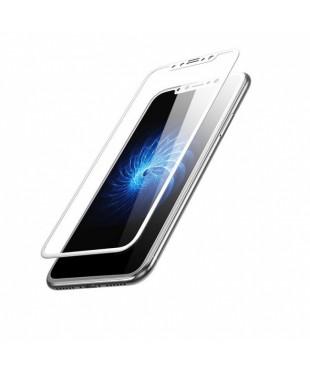 Защитное стекло iPhone X/XS/11 Pro белое