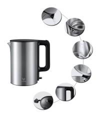 Электрический чайник Viomi Xiaomi Metal Kettle Global V-MK151B черный