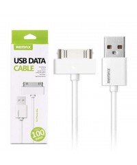 Кабель USB 2.0 iPhone 4 Remax Белый