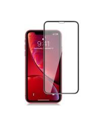 Защитное стекло iPhone XR Оптима черный