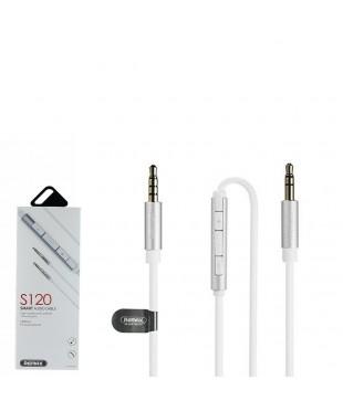 AUX-кабель REMAX S120 Smart белый