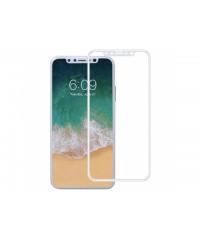 Защитное стекло Оптима iPhone X Белое