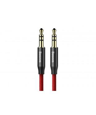 Кабель AUX BaseusYiven Audio Cabla M30 Black/Red 1m