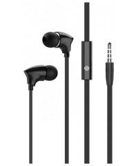 Наушники Borofone BM26 с микрофоном черные (912WDY02QX)