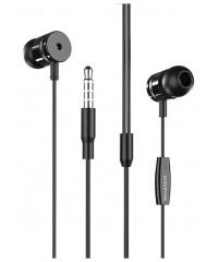 Наушники Borofone BM31 с микрофоном черные (201OYEH02QXW)