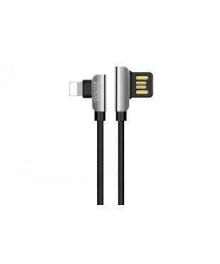Кабель Hoco U42 Lightning - USB черный