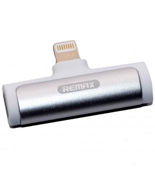 Адаптер Remax Lightning/AUX белый [RL-LA03i]