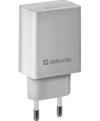 СЗУ-1USB Defender UPA-21, 5V/2.1A, белый, 83571