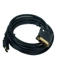 Кабель HDMI-DVI 3м Cablexpert [CC-HDMI-DVI-10]