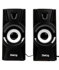 Колонки 2.0 Dialog Stride AST-10UP, USB, 10Вт, черные