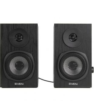 Колонки 2.0 Sven SPS-575 6Вт, USB, Black