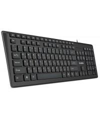 Клавиатура проводная Sven KB-S307M Black
