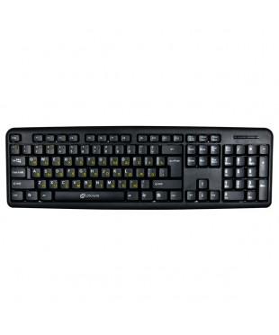 Клавиатура Oklick 130M black