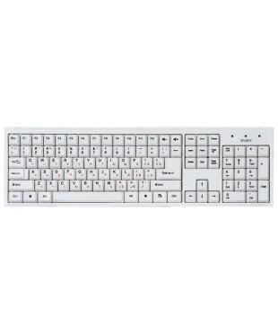 Клавиатура Sven Standard 303 мембранная, 106 клавиши, White