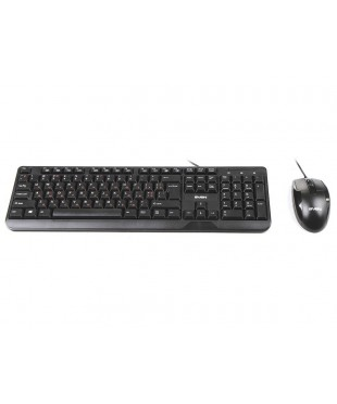 Комплект Sven KB-S330C клавиатура+мышь Black