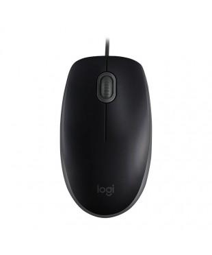 Мышь Logitech B110 Silent (910-005508) Black