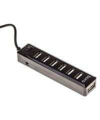 USB Хаб 7xUSB2.0 Buro BU-HUB7-1.0-U2.0 черный