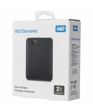 Внешний жесткий диск 2Tb WD WDBMTM0020BBK-EEUE