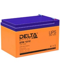 Аккумулятор Delta DTM 1212 (12В,12А)