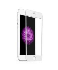 Защитное стекло Iphone 6/6S Оптима Белое