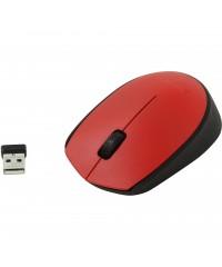 Мышь беспроводная Logitech M171 (910-004641) Red