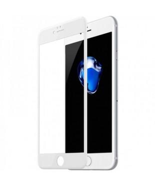 Защитное стекло iPhone 7/8 белое