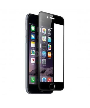 Защитное стекло iPhone 6/6S черное