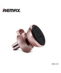 Автодержатель REMAX RM-C19 розовое золото