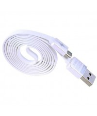 Кабель USB 2.0 для Iphone 5/Ipad Mini/Ipad 4 Remax белый 1м
