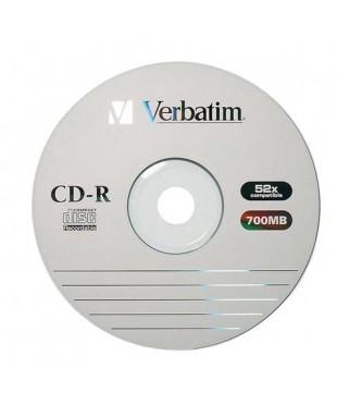 Диск CD-R Verbatim 80 52x 700Mb