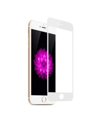 Защитное стекло iPhone 6/6S белое