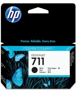 Картридж струйный оригинальный HP 711 (CZ133A) Black для hp DesignJet T120/ 520 80ml