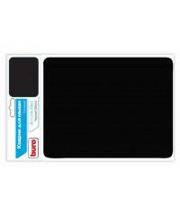 Коврик для мыши BURO матерчатый 230х180х2мм BU-CLOTH black