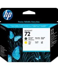 Картридж HP 72 Yellow 130-ml C9384A оригинал