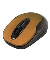Мышь Jet.A OM-U30G Brown c бесшумными клавишами Беспроводная