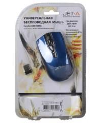 Мышь Jet.A Comfort OM-U31G Blue Беспроводная