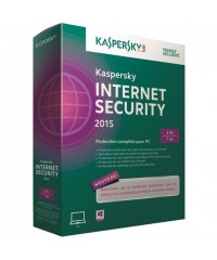 Антивирус Kaspersky Internet Security 2015 1год 2ПК