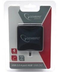 USB Хаб 4xUSB2.0 GEMBIRD UHB-C242