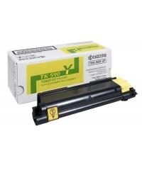 Тонер-картридж оригинальный Kyocera TK-590Y  5 000 стр Yellow для FS-C2026MFP/C2126MFP/C2526MFP/C2626MFP/ C5250DN, P6026CDN/P6526CDN